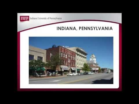 IUP International Student Pre Arrival Information Part 3: Your First Week