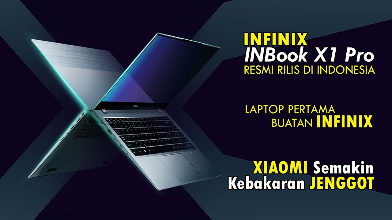Infinix INBook X1 Pro SIAP GEBRAK Pasar Laptop INDONESIA