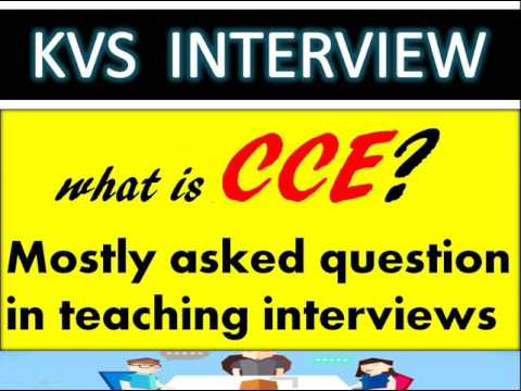 KVS Interview Evaluation system  CCE introduction  commonly asked question in Teaching Interview PRT