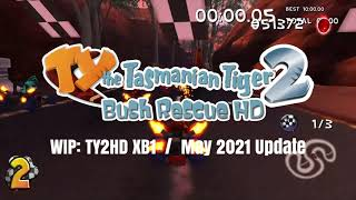 TY the Tasmanian Tiger 2: Bush Rescue HD - Xbox One Work in Progress