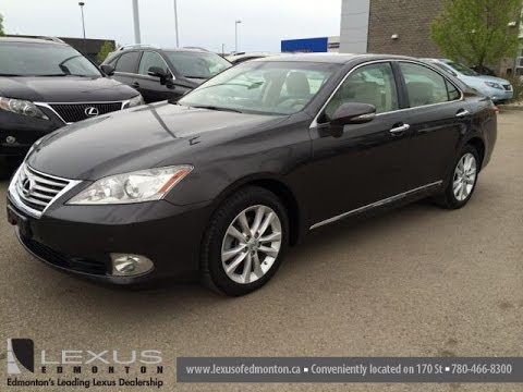 Lexus Certified Pre Owned Grey On Parchment 2010 ES 350   Fort McMurray, AB