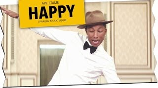 Repeat youtube video Pharrell Williams - Happy (Parodie)