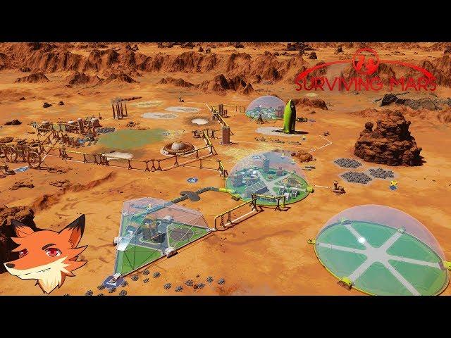 Live SURVIVING MARS - On se lance sur la terraformation de mars!