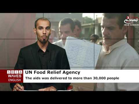 Iraq: UN food relief agency's aids reach Qayyarah
