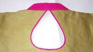 Collar design Gala blouse kurti design