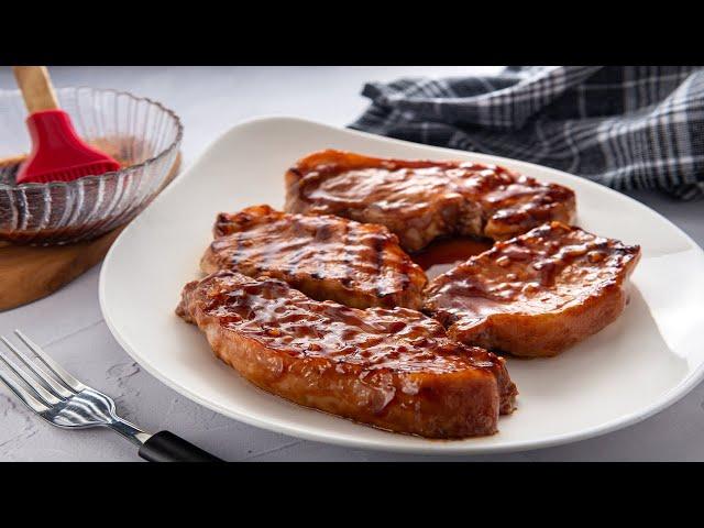 Chuletas de Cerdo en Salsa de Ajo y Miel Goya