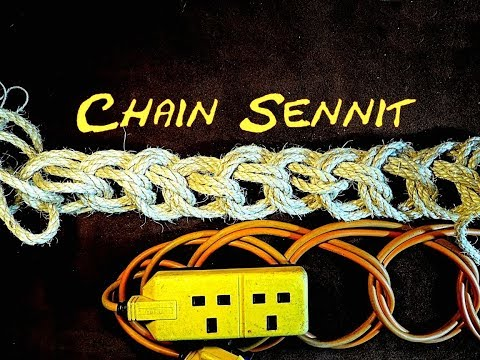Chain Sennit - Cable Storage - Rope Storage - Decorative Lanyard - Best Way to Store Extension Cord