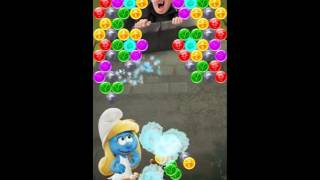 Smurfs Bubble Story Level 100 - NO BOOSTERS