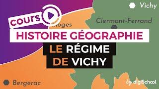 Le régime de Vichy - Histoire géographie - digiSchool