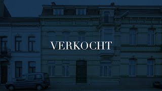 Prachtige woning met art deco elementen vlak bij het station en nabij het centrum van Wetteren.