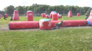 Mn pro paintball exalt 5 man. ZRT VS. HOSTILE GROUND