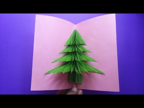 DIY: Christmas Crafts!!! How to Make Beautiful Paper Card For Christmas!!! Paper Card Tutorial !!