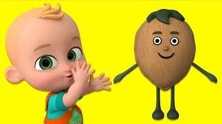 Ceviz Adam Şip Şap Şop - En Popüler Bebek Şarkıları - Zeynoş ile Adiş