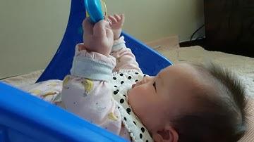 [6개월 아기]아기체육관에서 노는지우 (with 피셔프라이스 클래식아기체육관)
