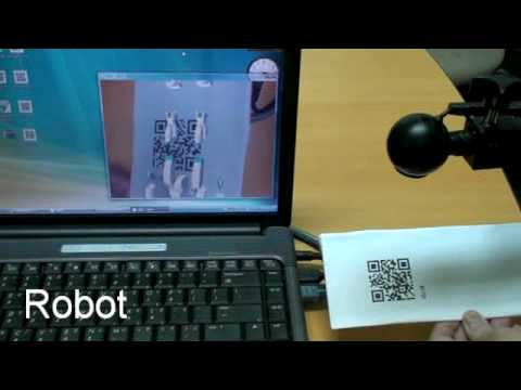QR Code AR Demo ( Augmented Reality )