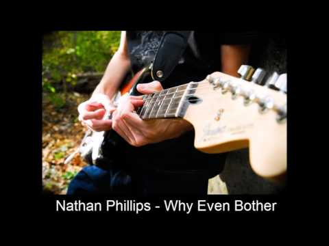 Nathan Phillips  Why Even Bother 2017 original
