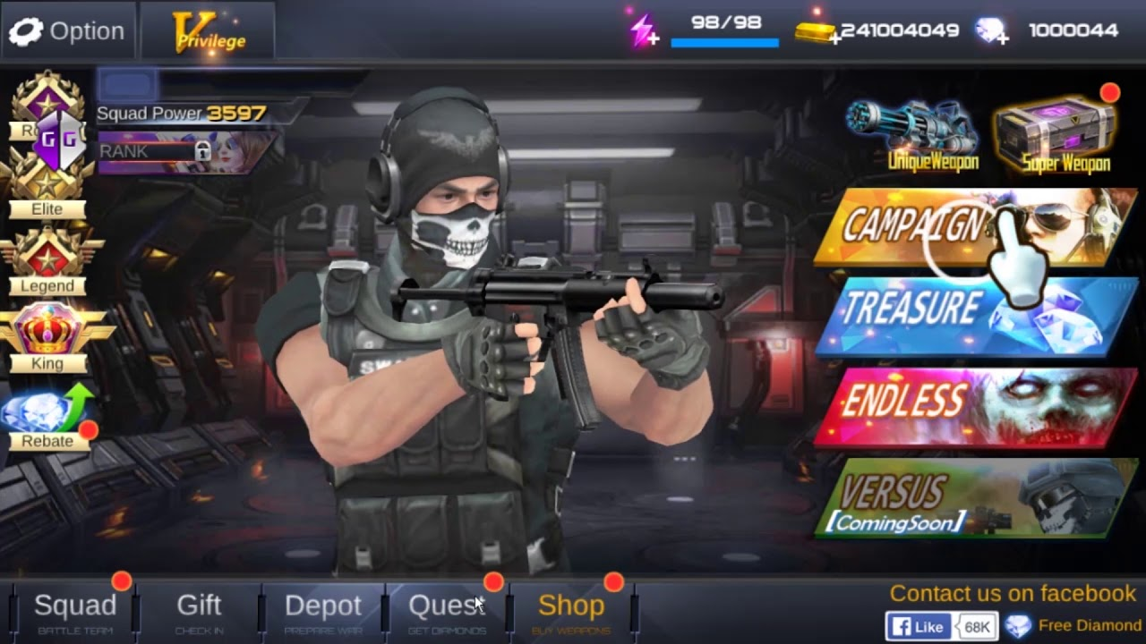 How To Hack Fatal Raid- No 1 Mobile FPS Unlimited V 1 5 409 by