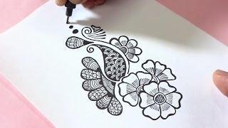 henna easy mehndi drawing pen doodle doodles doodling mehendi tattoo