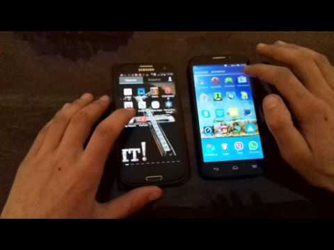 ALCATEL ONETOUCH POP S7 vs Samsung galaxy s3
