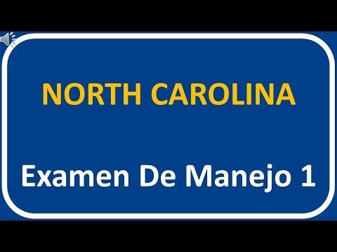 Examen De Manejo De North Carolina 1