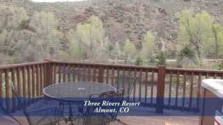 Three Rivers Resort, Almont, Colorado, Cabins for Sale or Rent