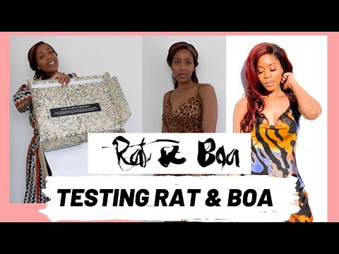 TRYING RAT & BOA FOR THE FIRST TIME   IS IT WORTH IT   RAT & BOA TRY ON HAUL
