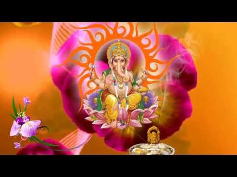 HD Lord Ganesh Background Animated Video Free Downloads