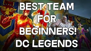 Best Characters and Teams for Beginners - DC Legends - Android/IOS Fighting Game