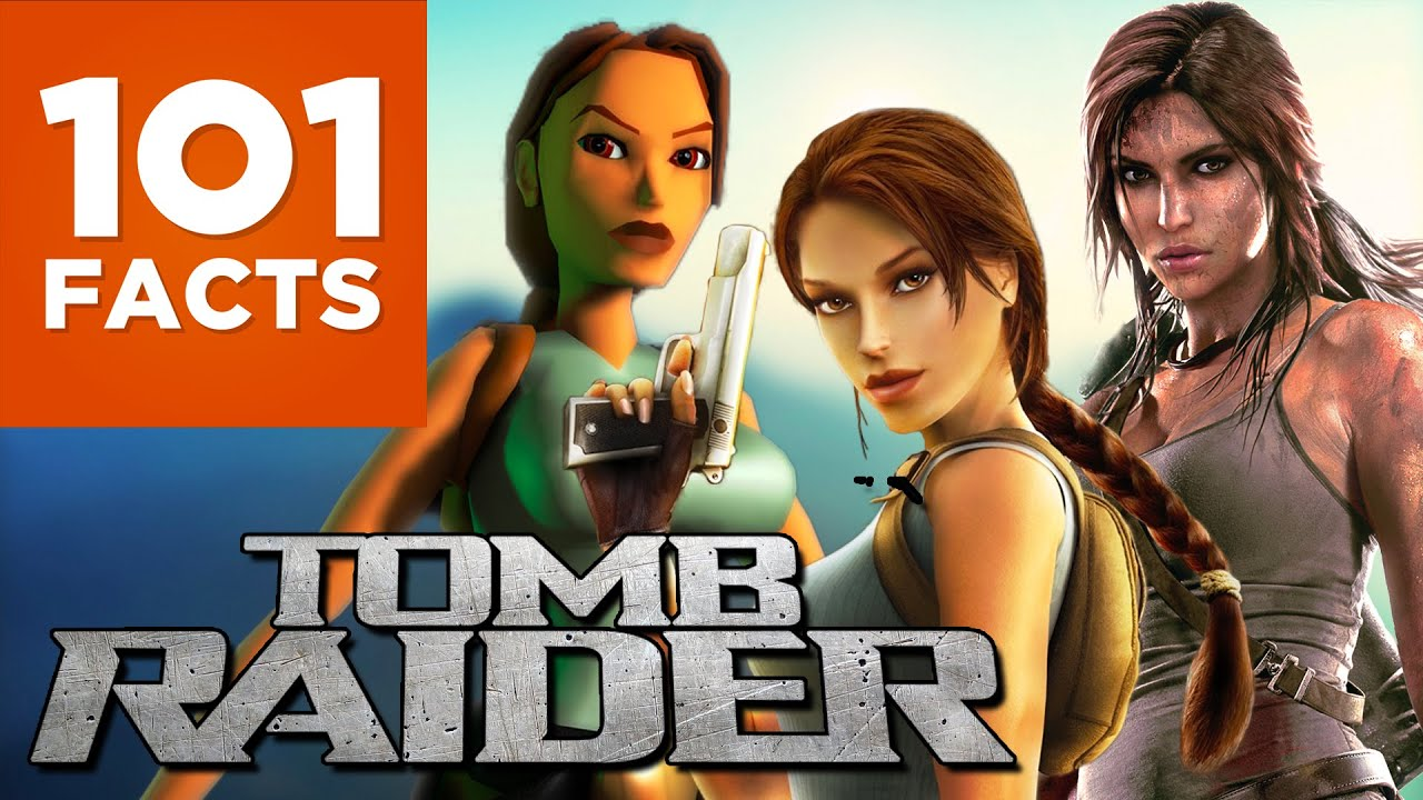 101 Facts About Tomb Raider (ft. Alltime Gaming)