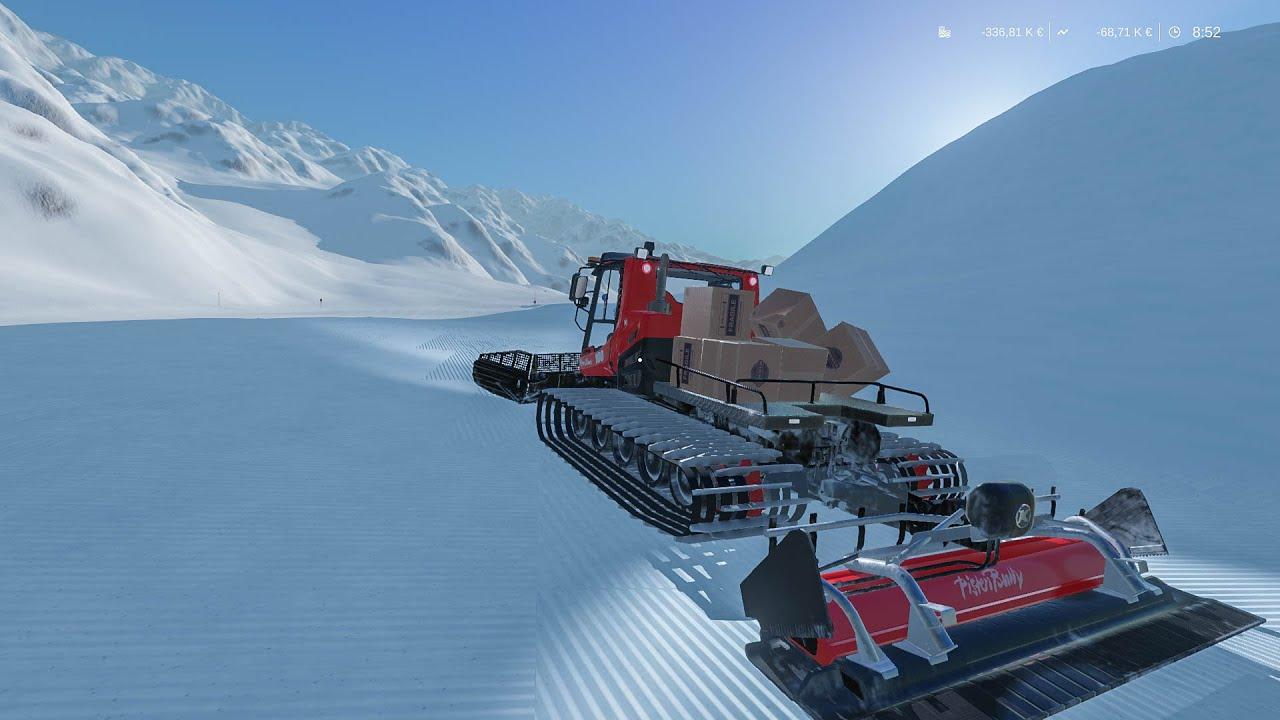 winter resort simulator transporting goods with. Black Bedroom Furniture Sets. Home Design Ideas
