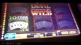 HAND OF THE DEVIL SLOT Machine Bonus Wins by BALLY