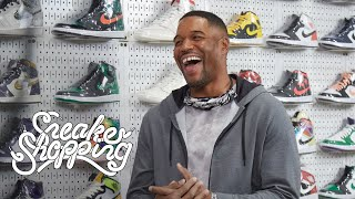 Michael Strahan Goes Sneaker Shopping With Complex