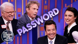 Password with Steve Martin, Martin Short and Margaret Qualley | The Tonight Show