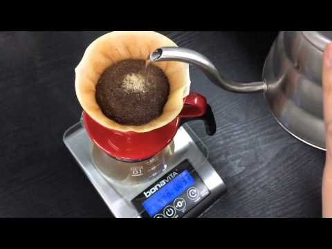 Coffee Brewing Slow Video