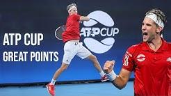 BEST POINTS - Dominic Thiem ATP Cup 2020