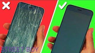 как избавиться от царапин на экране телефона?  4 простых способа