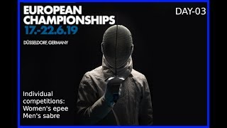 European Championships Düsseldorf 2019 Day 03 commentary feed - Blue Piste