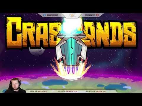 Crashlands - Sassy Space Crash Survival Sim?