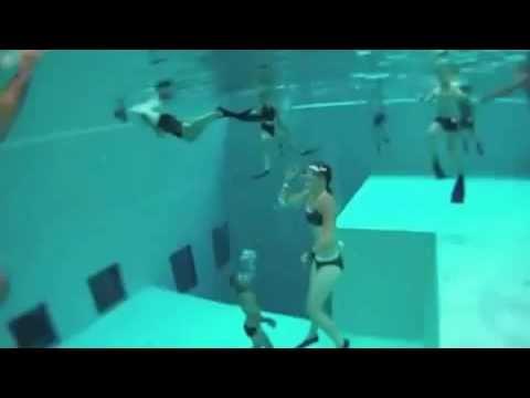 Самый глубокий бассейн в мире  Nemo 33