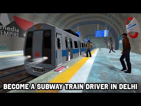 Ездим на Метро в Дели. Индия. Delhi Subway Train Simulator. Новинка. Осень 2016