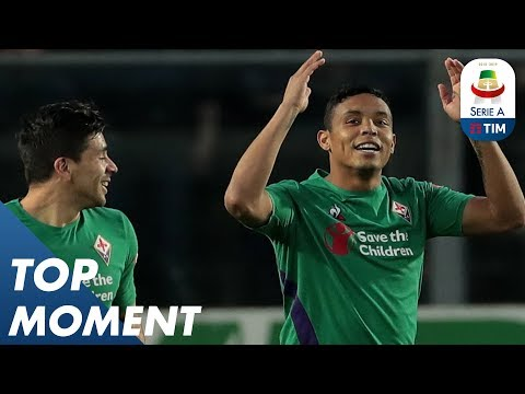Muriel left footed shot from left side of the box | Atalanta 3-1 Fiorentina | Top Moment | Serie A