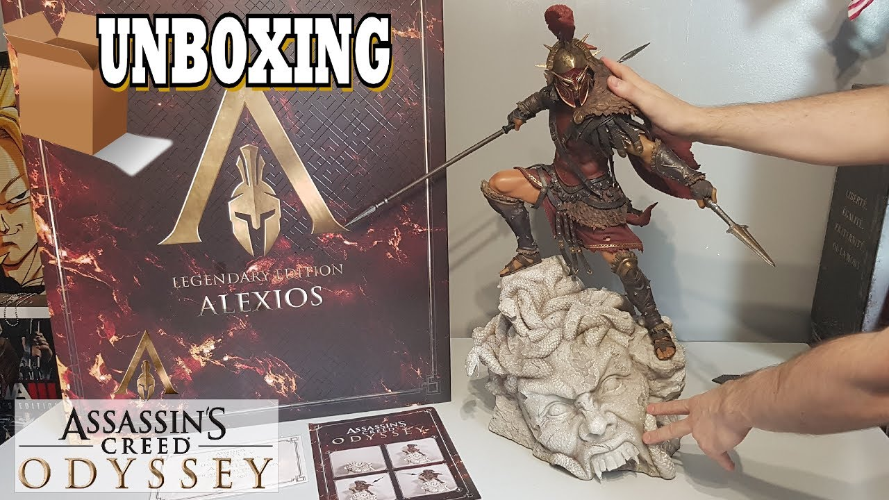 Unboxing Assassin S Creed Odyssey The Alexios Legendary Edition