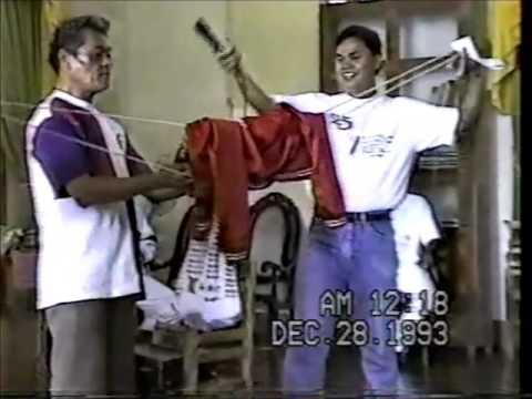 Tagbilaran Clergy Christmas Party 1993