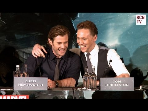 Chris Hemsworth & Tom Hiddleston Interview - Bromance - Thor The Dark World Premiere