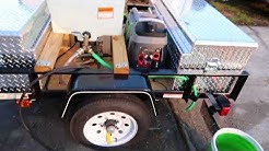 NEW 2018 MOBILE DETAIL RIG  - TRAILER  - ECO RINSE MACHINE - FRANCHISING - MOBILE PRODUCT STORE -