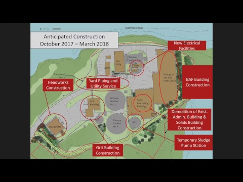 Peirce Island Waster Water Treatment Facility Upgrade 10.18.2017