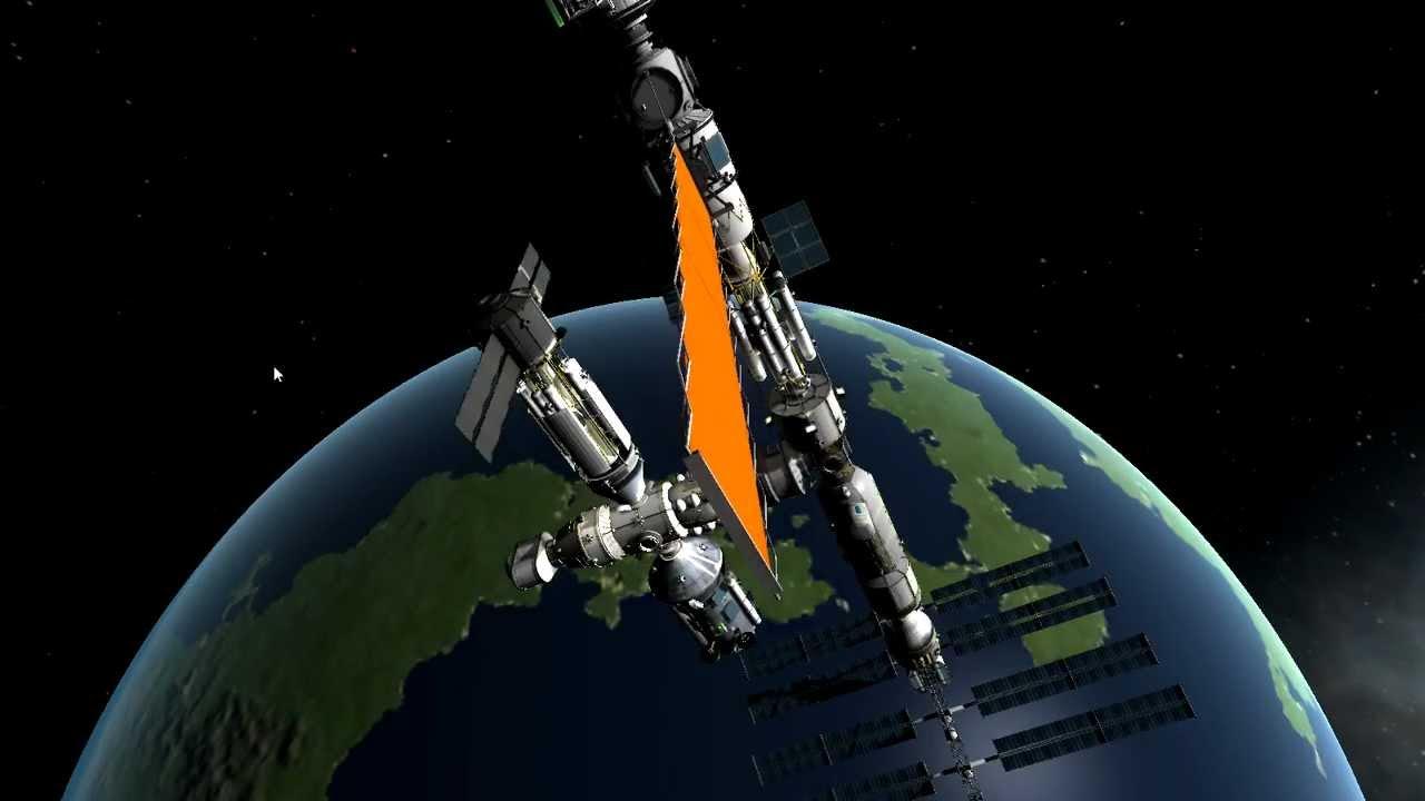 KSP big space station