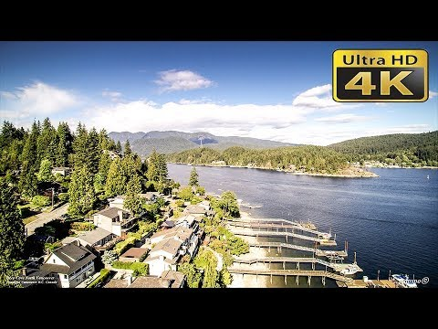 4K Deep Cove North Vancouver BC Canada