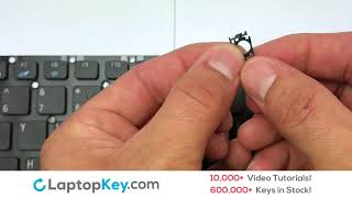Keyboard Key Repair Guide   Acer Aspire E5-522   Install Repair Fix E5-772 ES1-523 F5-521 V3-575