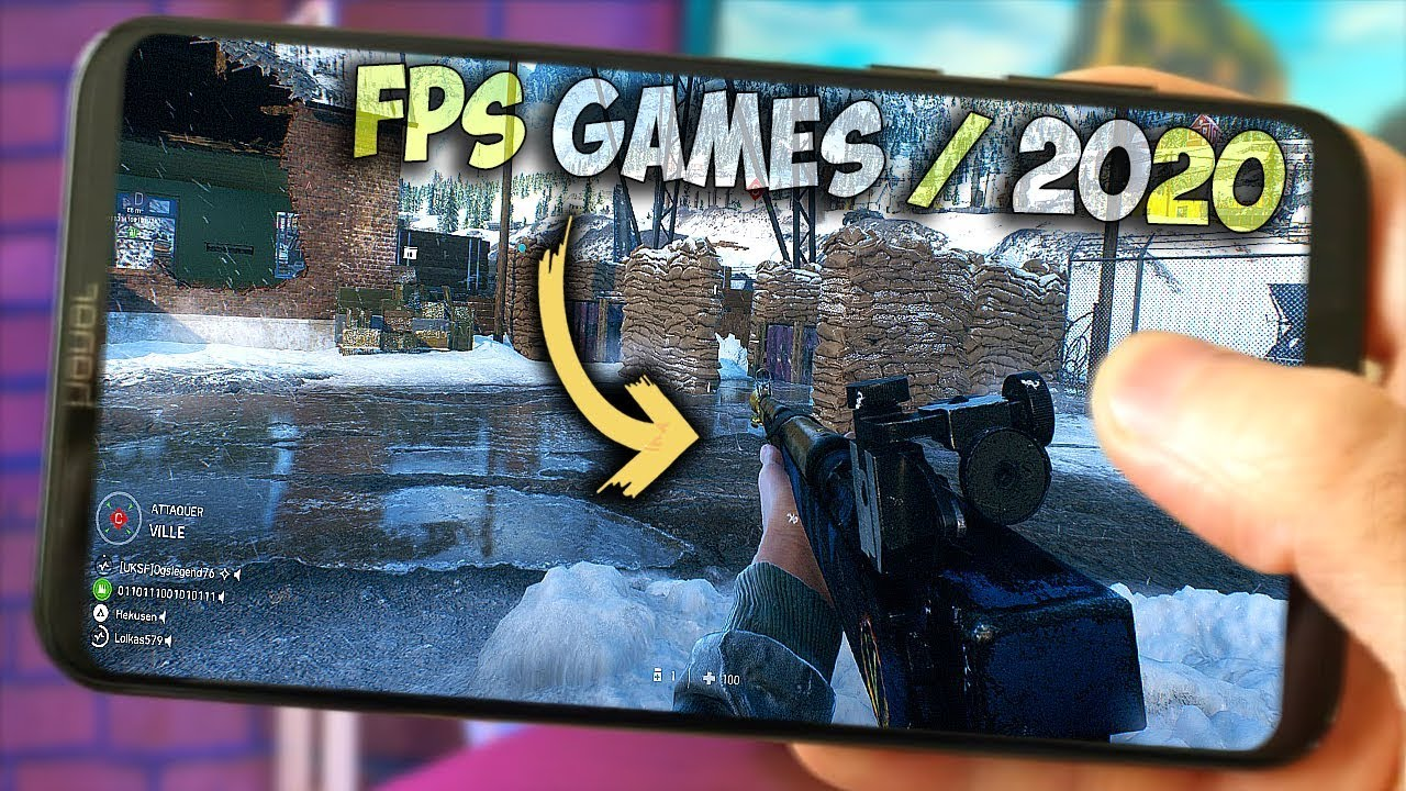 Top Fps Games 2020.Top 10 New Fps Games For Android Ios In 2019 2020 Offline Online